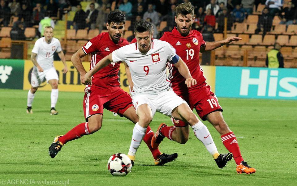 Piłkarze Armenii nie są w swym kraju celebrytami jak Robert Lewandowski w Polsce