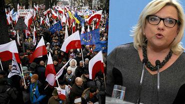 Marsz w obronie demokracji | Beata Kempa