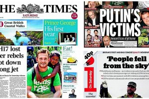 """Brytyjska prasa: """"Palce wskazuj� na Putina"""", """"Prezydent Rosji zabi� mojego syna"""""""