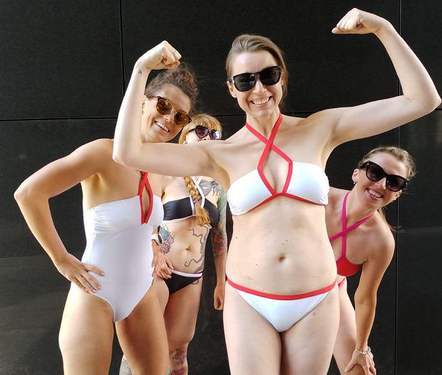 Przymierzyłyśmy kostiumy z kolekcji Mission Swim by Ewa Chodakowska