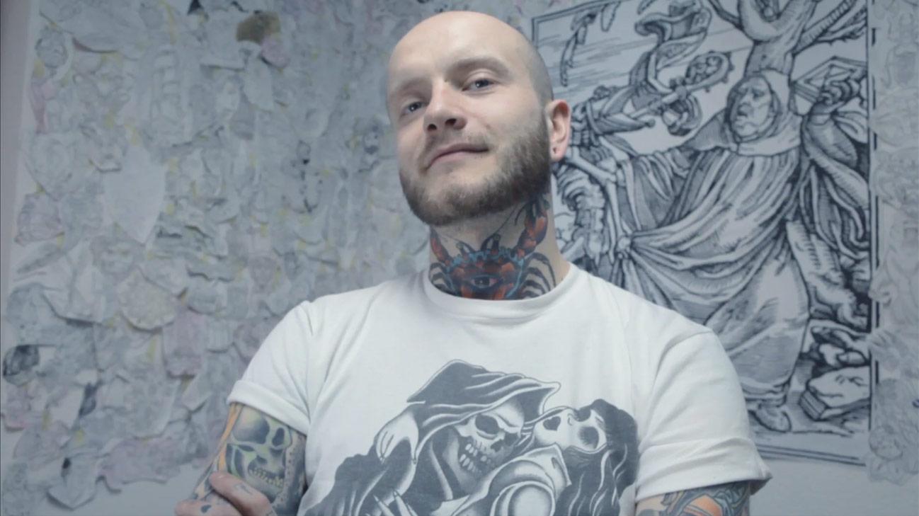 Marcin Domański (fot. kadr z filmu / Nowa Cyfrowa Biblioteka)