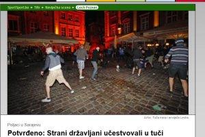 FK Sarajevo - Lech Poznań. Nocna zadyma w stolicy Bośni. Kilkanaście osób w szpitalu [WIDEO]