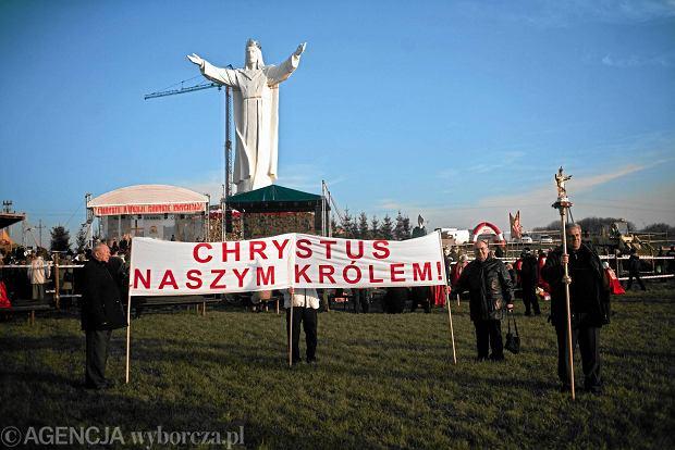 W gminie Błaszki stanie najwyższy w Polsce krzyż. Będzie dwa razy wyższy niż Jezus ze Świebodzina