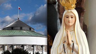 Sejm chce uczcić uchwałą rocznicę objawień fatimskich