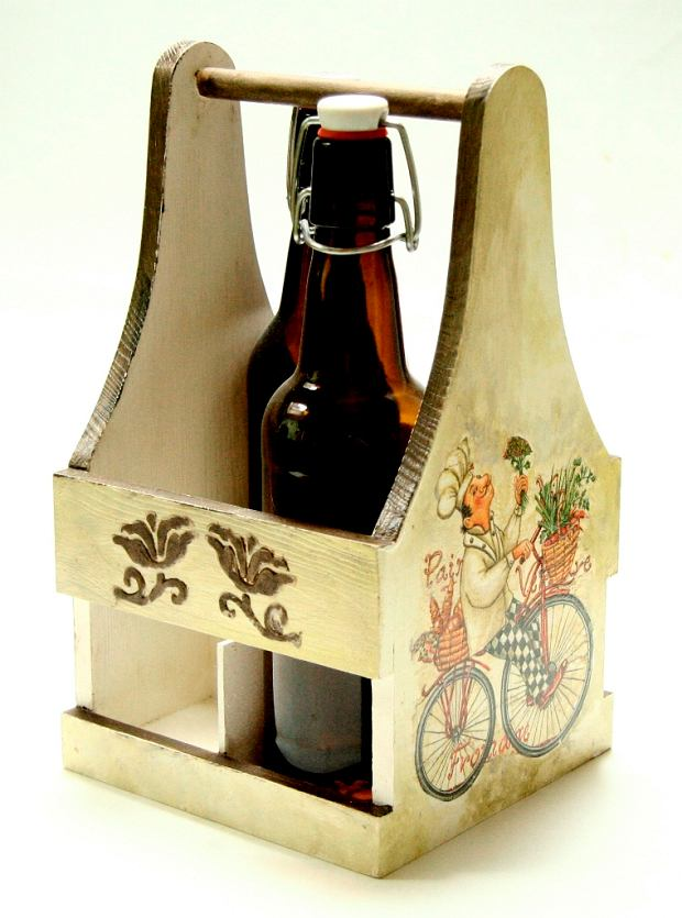 Pojemnik na butelki piwa
