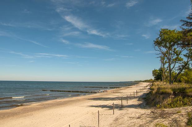 Nadmorska plaża - tu nie wybudujesz