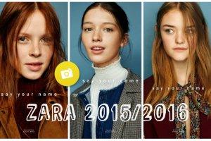Zara TRF jesień-zima 2015/2016