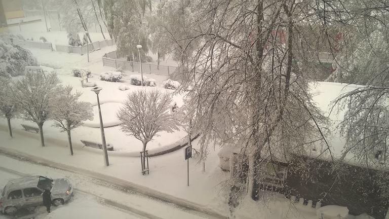 Zima w Częstochowie