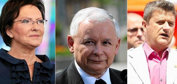 Ewa Kopacz, Jarosław Kaczyński, Janusz Palikot
