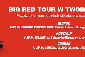 Big Red Tour w Twoim mieście!