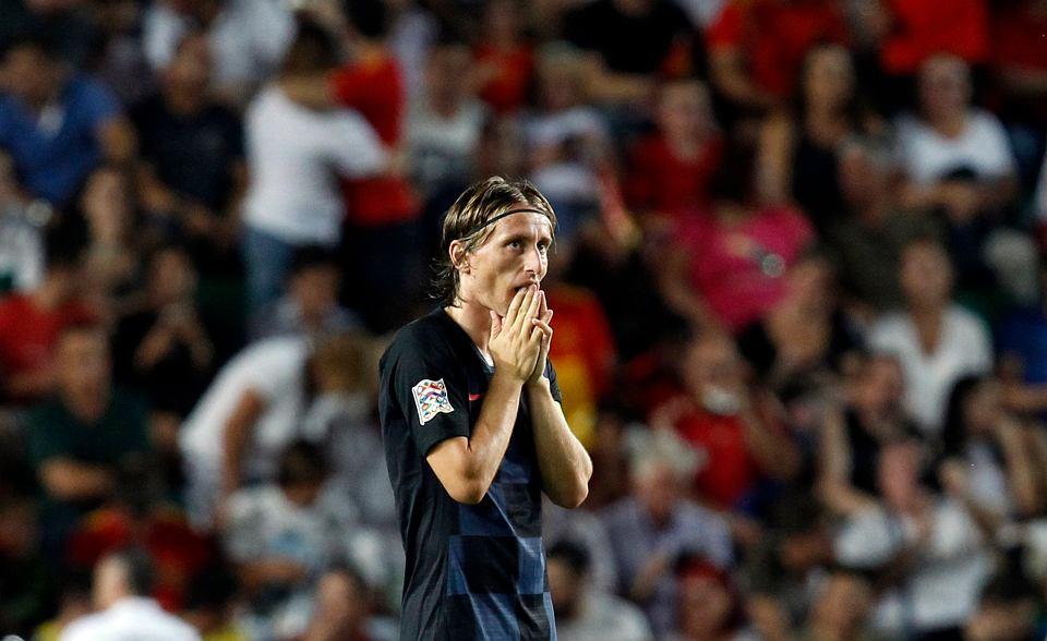 APTOPIX Spain Croatia Nations League Soccer