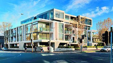 Garden House w Melbourne w Australii to efektowny apartamentowiec zaprojektowany w Woods Bagot.