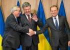 Jen-Claude Juncker, Petro Poroszenko i Donald Tusk