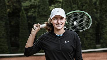 Iga Świątek, tenisistka, zwyciężczyni juniorskiego Wimbledonu
