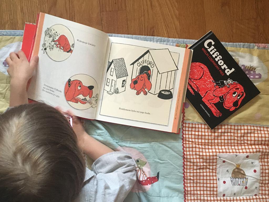 Clifford to jeden z ulubionych bohaterów moich dzieci.