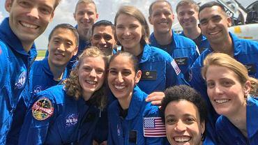 Kandydaci na astronautów