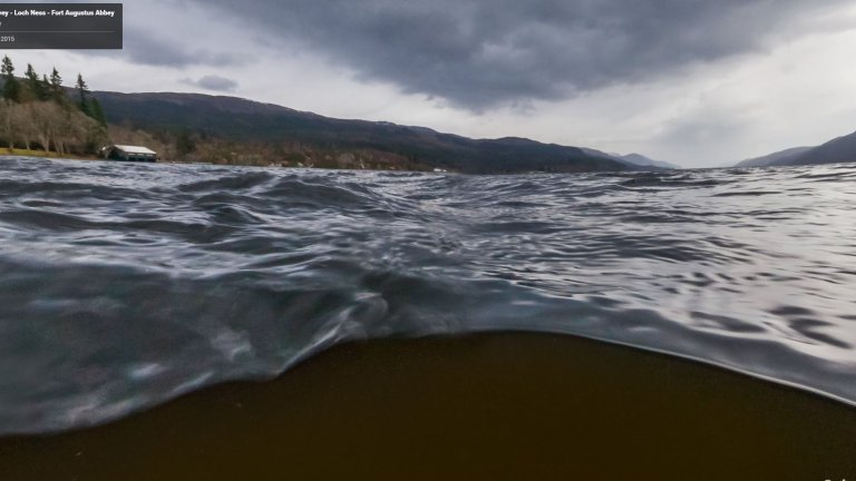 Potw�r z Loch Ness mo�e istnie�? Sprawd� sam dzi�ki Google Maps!
