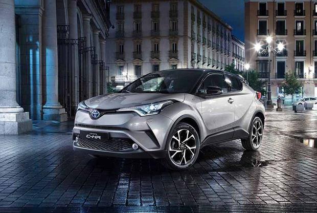 Toyota C-HR | Tylko 3,7 litra na 100 km