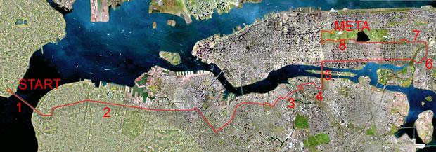 bieganie, podróże, Bieganie przez Nowy Jork, The ING New York City Marathon