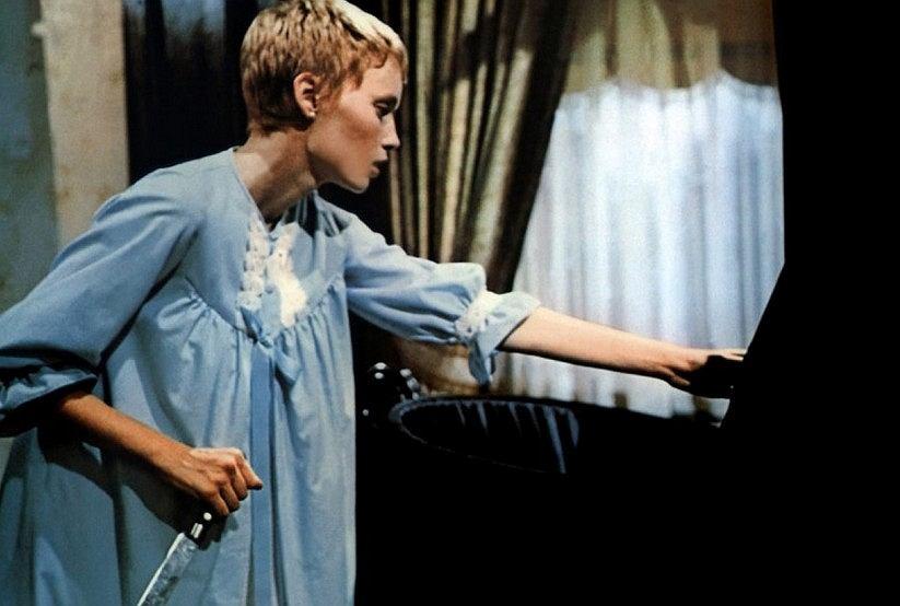 Kadr z filmu 'Dziecko Rosemary'
