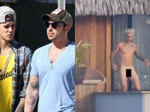 Justin Bieber z ojcem