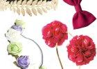 Akcesoria do włosów: opaski, kwiaty i kokardy
