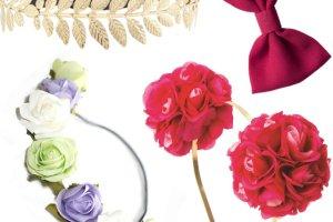 Akcesoria do w�os�w: opaski, kwiaty i kokardy