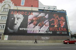 S�d: billboardy ze zdj�ciami ludzkich p�od�w nie naruszaj� prawa