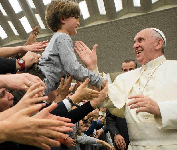 Papież Franciszek po dzisiejszej audiencji