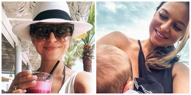 """Ania Lewandowska znowu porusza temat karmienia piersią """"Ponieważ wątek wzbudził wiele kontrowersji, postanowiłam opisać ten temat nieco dokładniej"""""""