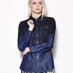 Damskie koszule jeansowe - przegl�d