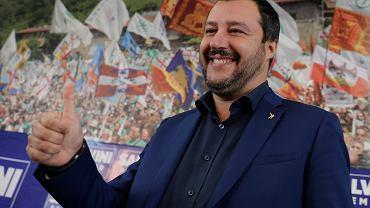 Przywódca Ligi Północnej Matteo Salvini