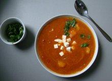 Krem pomidorowo-dyniowy - ugotuj