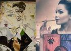 Bohomazy czy sztuka? Śmiać się czy szanować? Na te pytania sami musicie odpowiedzieć oglądając obrazy namalowane przez celebrytów. Britney Spears błysnęła 'dziełem', które mogłoby namalować dziecko, a jak maluje Cleo? A Agata Duda? Zobaczcie jednak mroczne prace Eweliny Lisowskiej. Co o nich sądzicie?