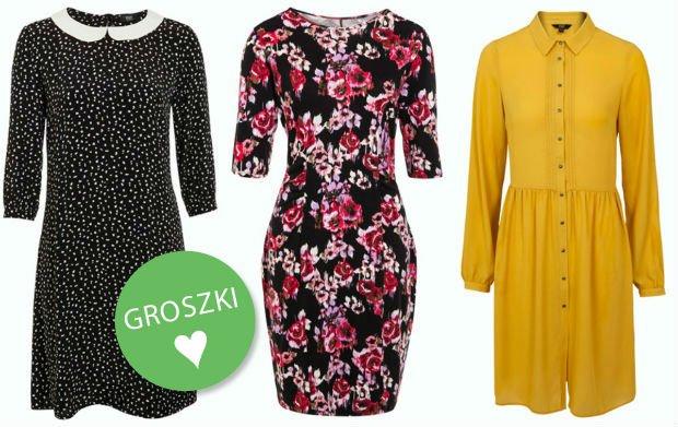 Sukienki z F&F na jesień - różnorodność wzorów, bogactwo fasonów i atrakcyjne ceny