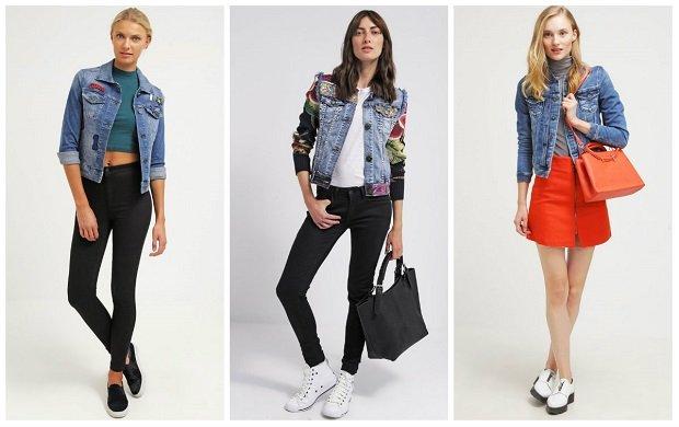 Damskie kurtki jeansowe na wiosn� - �wietny dodatek do ka�dej stylizacji