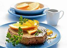 Stek w sosie pomarańczowym - ugotuj