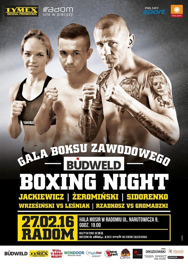 Jackiewicz i �eromi�ski powalcz� na ringu w Radomiu