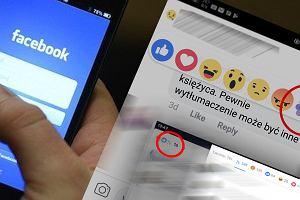 Facebook przeprasza - nie było zgody na nowe reakcje. 'To część hackathonu naszych pracowników'