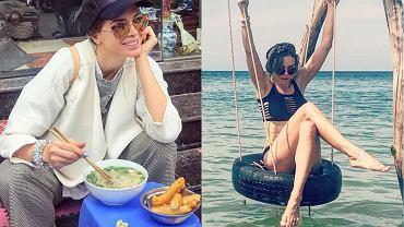 Ania Wendzikowska na wakacjach w Wietnamie