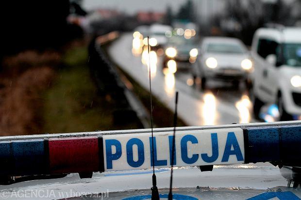 Policyjny radiow�z