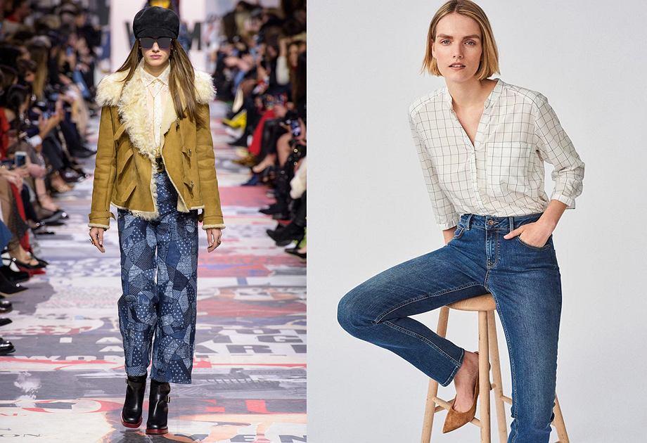 bb7dad184a3b Najmodniejsze kroje jeansów damskich na sezon jesień-zima 2018. Sprawdź!