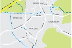 Trzydzie�ci nowych dr�g na po�udniu Katowic [RAPORT]