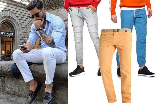 Jasne spodnie / fot. coolintalianstyle.it / materiały partnerów