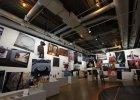 Dworzec Główny bez zbiorów paryskiego Centrum Pompidou