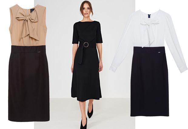 Sukienki do pracy Simple