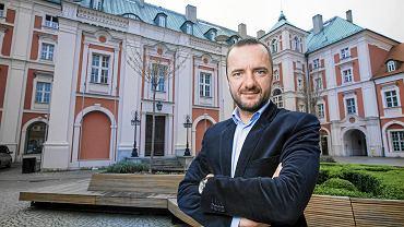 Jarosław Pucek, kandydat na prezydenta Poznania w wyborach samorządowych 2018