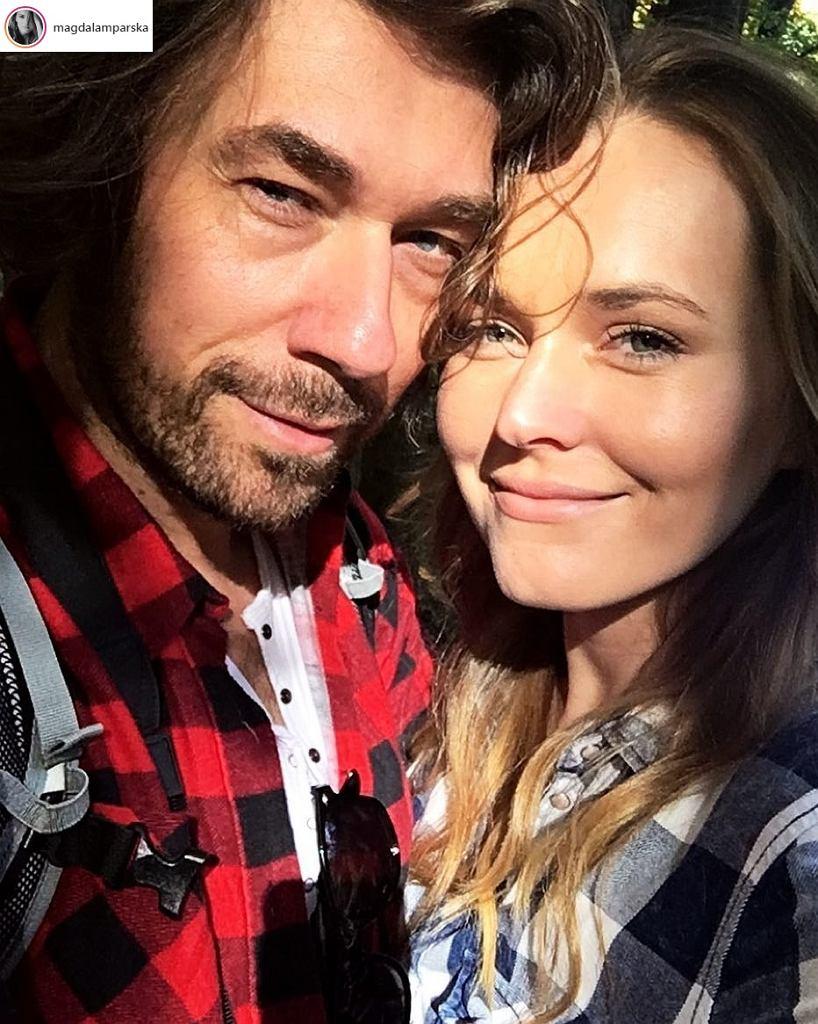 Magdalena Lamparska i Bartosz Osumek
