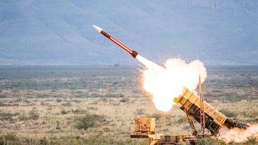 Odpalenie rakiety z amerykańskiego systemu Patriot