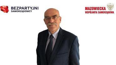 Konrad Rytel, prezes Mazowieckiej Wspólnoty Samorządowej, który może zostać radnym Sejmiku Mazowsza